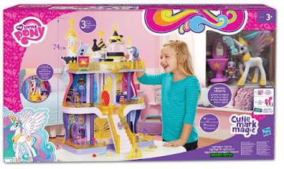 TOYS : JUGUETES - MY LITTLE PONY : Cutie Mark Magic  Canterlot Castillo | Castle Playset  Producto Oficial 2015 | Hasbro B1373 | A partir de 3 años  Comprar en Amazon España