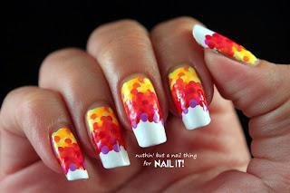 Nail It Mag: Rainbow Fishscale Manicure Tutorial
