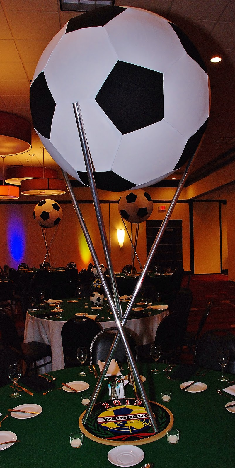 Soccer ball craft ideas - Monday March 11 2013