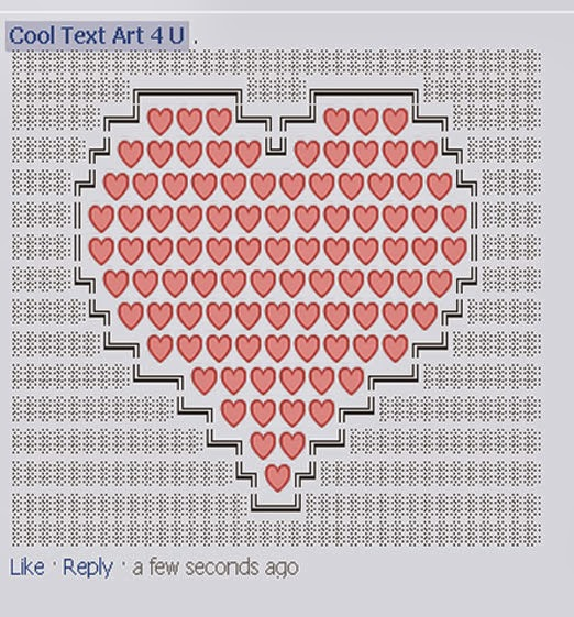 I Love You Emoji Art Copy And Paste Acurnamedia