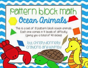http://www.teacherspayteachers.com/Product/Pattern-Block-Math-Ocean-Animal-Edition-1180640