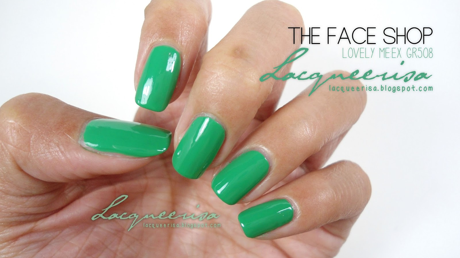 Lacqueerisa: The Face Shop GR508