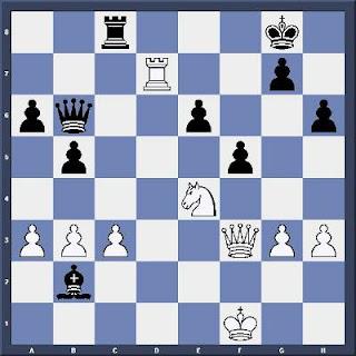 Echecs & Tactique : les Blancs jouent et gagnent en 4 coups - Niveau Difficile