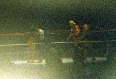 Pedro Morales vs Dino Bravo at Maple Leaf Gardens in Toronto wrestling.