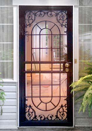 Residential front doors - Security Screen Doors For Pinterest