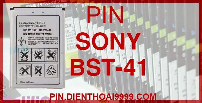 Pin Sony Ericsson bst41 dung lượng cao Pin SE Xperia A8i Z1i X1 X2 X10 giá rẻ chất lượng Hà Nội  Pin SE A8i/ M1i/ X1/ X2/ X2i/ X10/ X10i/ Xperia Play Z1i/ Xperia Play Pin Sony Ericsson BST-41 - Pin Galilio dung lượng cao 1500mAh - Giá 160k - Pin Sony Ericsson A8i/ M1i/ X1/ X2/ X2i/ X10/ X10i/ Xperia Play Z1i/ Xperia Play - Kích thước: 6.5cm x 4.4cm x 0.5 cm - Bảo hành: 6 tháng  GIAO HÀNG VÀ BẢO HÀNH TẬN NHÀ  Quý khách có nhu cầu mua pin,  hãy liên hệ với chúng tôi:  - Khu vực Ba Đình: 0904.691.851 - Khu vực Hà Đông: 01273.473.357 - Khu vực Từ Liêm: 0976.997.907  Website: http://pin.dienthoai9999.com Mua số lượng lớn: 0942299241  - Hướng dẫn sử dụng, bảo quản pin: http://pin.dienthoai9999.com/huong-dan-su-dung-pin - Quy định bảo hành: http://pin.dienthoai9999.com/quy-dinh-bao-hanh-pin - Khách hàng góp ý: http://pin.dienthoai9999.com/khach-hang-gop-y  Xem thêm pin cùng loại:  - Pin Sony Ericsson BST-33 - Pin Sony Ericsson BST-36 - Pin Sony Ericsson BST-37 - Pin Sony Ericsson BST-38 - Pin Sony Ericsson BST-39 - Pin Sony Ericsson BST-40 - Pin Sony Ericsson BST-43 - Pin Sony Ericsson EP500 - Pin Sony Ericsson BA700 - Pin Sony Ericsson BA750  Một số điện thoại dùng được pin dung lượng cao BST-41:  Sony Ericsson Xperia Play Z1i  Trong loạt sản phẩm mới năm 2011 của Sony Ericsson thì có lẽ chiếc máy ấn tượng nhất bên cạnh Xperia ArcXperia Play khi lần đầu tiên Sony cho phép thương hiệu PlayStation xuất hiện trên điện thoại di động. Xperia Play có chip xử lý ngang ngửa với Arc, Qualcomm SnapDragon thế hệ 2 xung nhịp 1GHz nhưng các kết cấu khác bị cắt giảm nhằm phục vụ cho mục đích phân chia dòng sản phẩm của Sony Ericsson.  Sony Ericsson Xperia Play là một chiếc máy được thiết kế khá đẹp nhưng nó lại hơi dày do chứa bàn phìm chuyên dụng chơi game. Thật sự mà nói, cảm giác cầm Play là khá thoải mái do tay bạn được bám vào mặt lưng cong của máy cùng kết cấu chắc chắn của toàn bộ các thành phần còn lại. Play cũng là sản phẩm đầu tiên của Sony Ericsson sử dụng 4 phím cơ bản của 