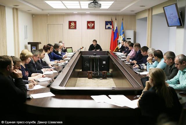 Последнее в этом году заседание комиссии по обеспечению безопасности дорожного движения на территории Сергиево-Посадского района.