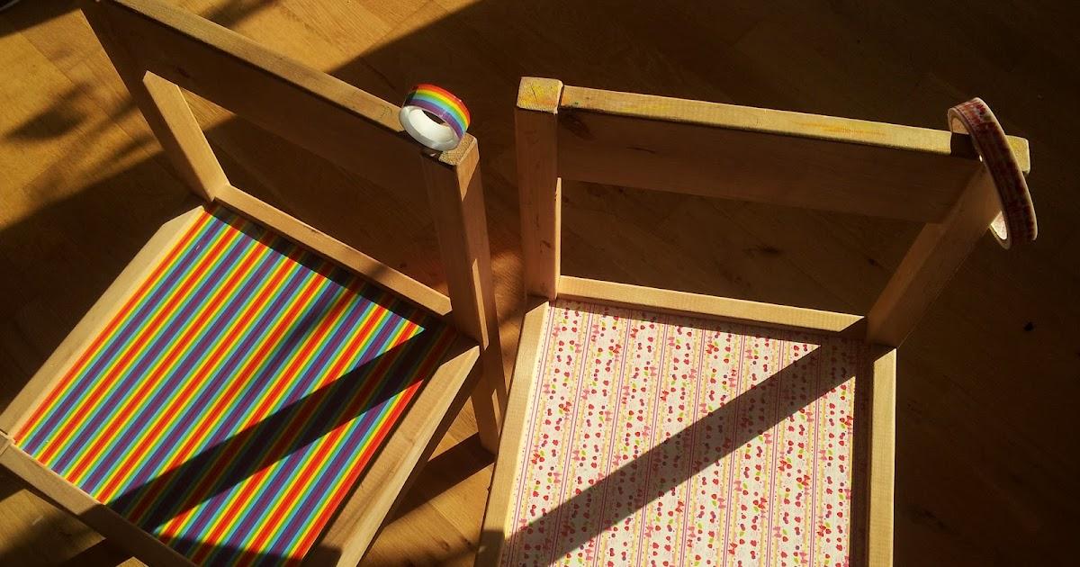 der bastelblog ikea kinderstuhl masking tapes wie neu. Black Bedroom Furniture Sets. Home Design Ideas