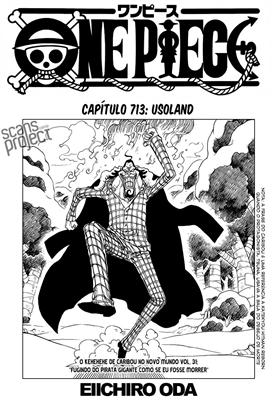 One Piece Mangá 713 Português