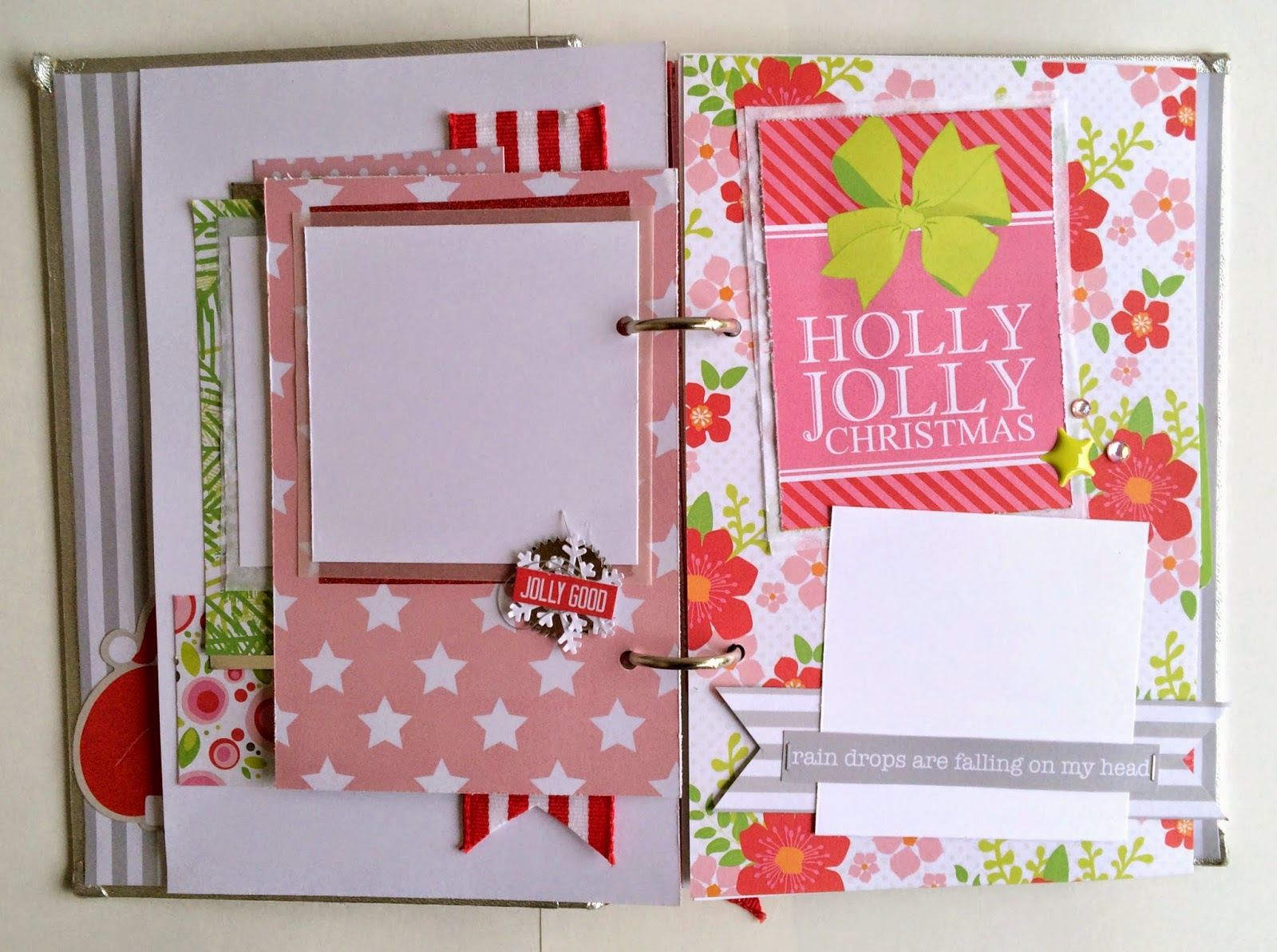 Tessa Buys Chickaniddy Crafts December Mini Album page 2
