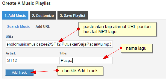 how to create a play list in google music