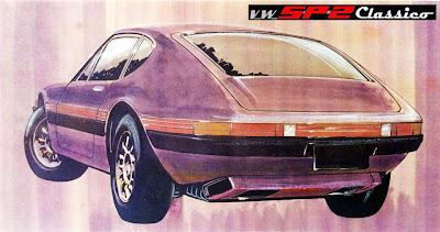 Estudo estilístico do VW SP2