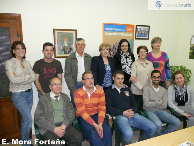 Candidatura PP Turís elecciones municipales 2011