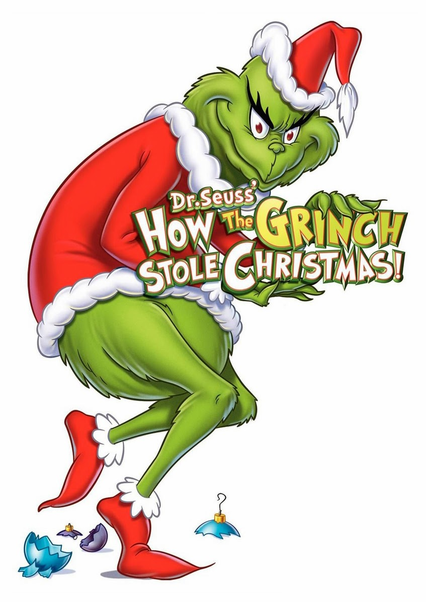 Grinch pages to color - Grinch Face Outline The Grinch Yuletide Fairy