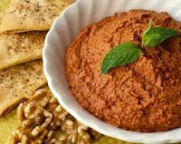 Pasta de Pimentão Vermelho (vegana)