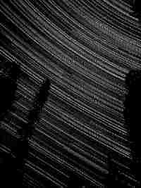 Langzeitaufnahme von Sternen
