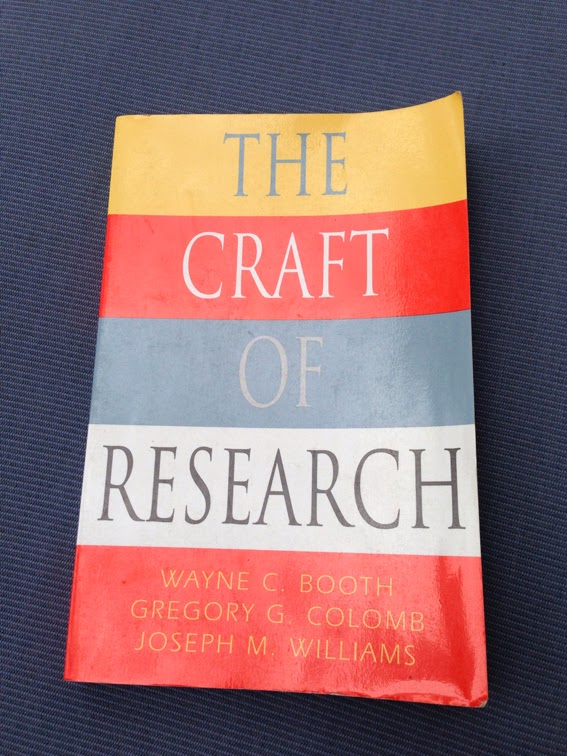 Craft of research pdf booth