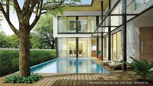 Resort Floor Plans: 2 Story House Plan, 4 bedrooms, 5 ...