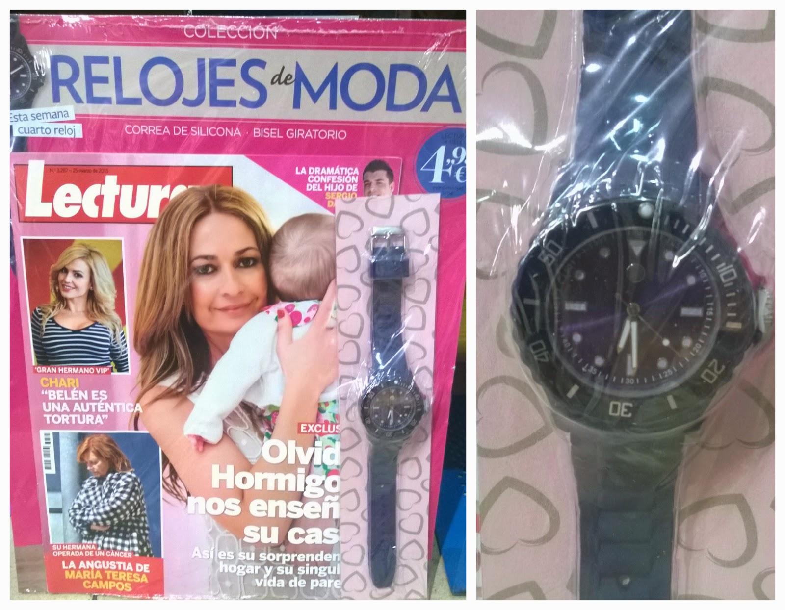lecturas reloj abril 2015 regalo revista