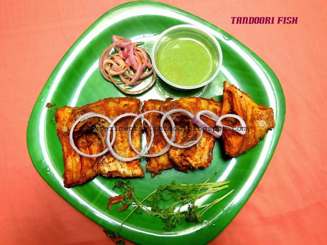 Tandoori Fish- for healthy binge….