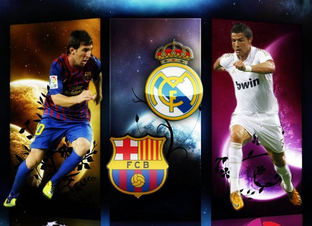 cristiano ronaldo vs lionel messi new wallpapers hd 2013