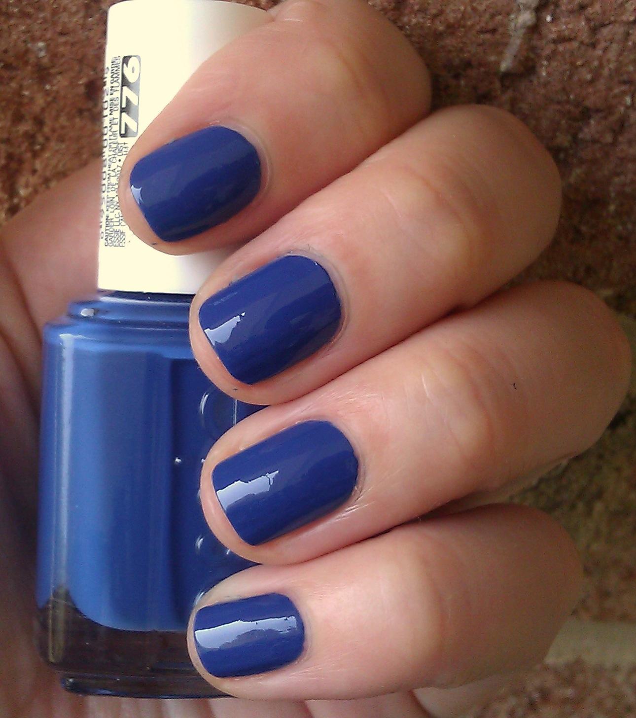 Polish or Perish: Taking a crack at cobalt - Essie Mezmerised (aka ...