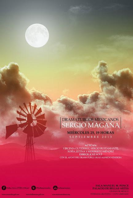 Homenaje al dramaturgo Sergio Magaña en el Palacio de Bellas Artes