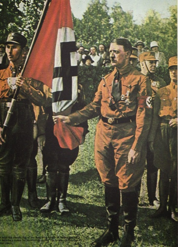 The Blood Flag Blutfahne Symbol Of Ns Sacrifice And Ritual The