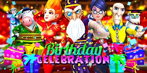 Frostcaller Wizard101 7th Birthday Celebration