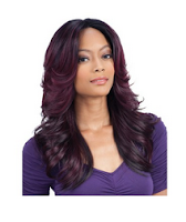 Equal Synthetic 3 Way Part Front Lace Wig Marvel