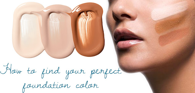 how to find your perfect foundation shade