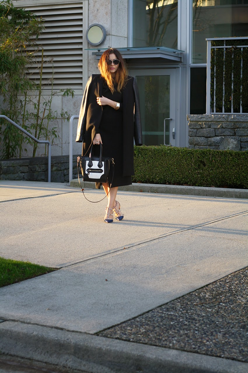 Vancouver, Style, Fashion, Street Style, Fashion Blogger, Outfit, Style Blogger, All Black, Valentino, Aldo, Zara, Hair