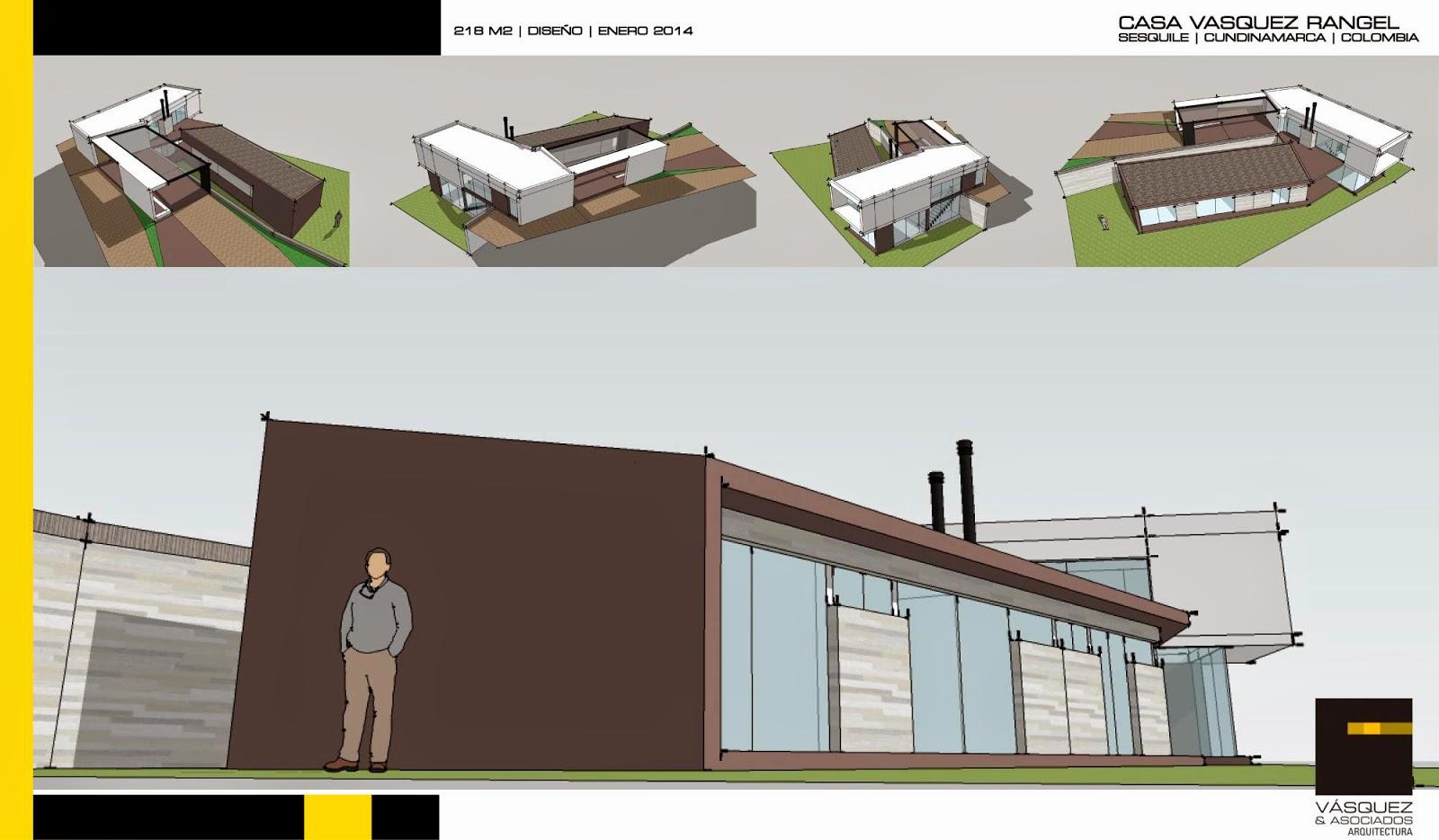 Vasquez y asociados arquitectura ltda casa vr for Genesis arquitectura y diseno ltda