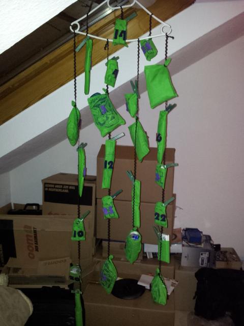 Kreatives durcheinander dezember 2012 for Kleines geschenk fa r meinen freund