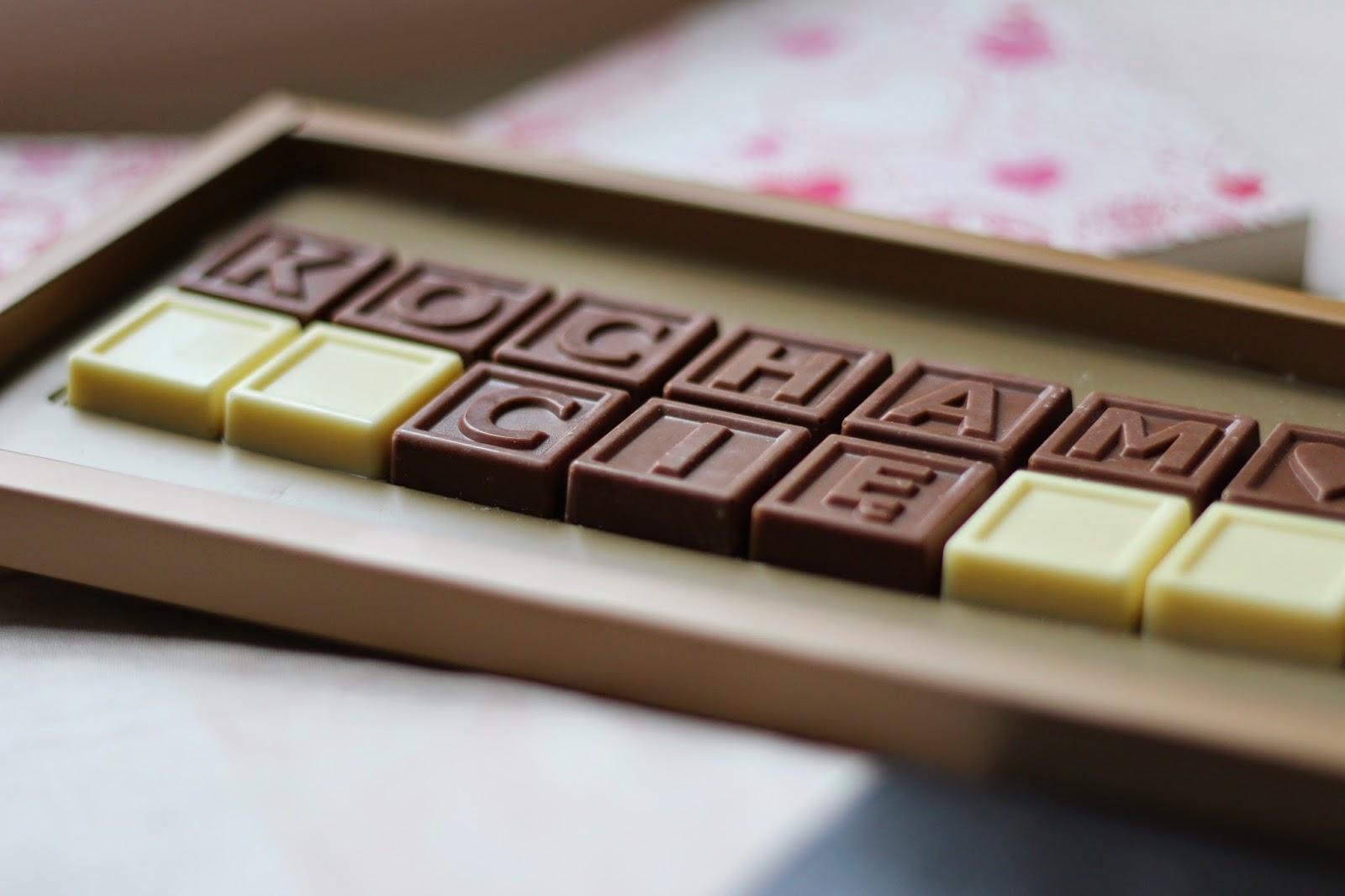 Co kupić w prezencie na Walentynki - czekoladowy telegram.