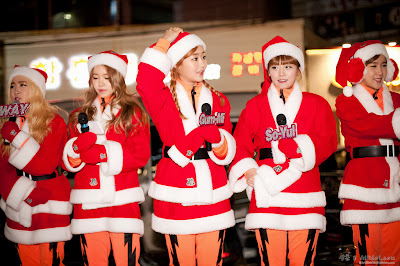 crayon pop christmas 2013
