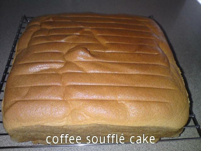Cooking Pleasure Coffee Souffl 233 Cake