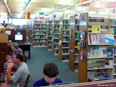 Inside the Cedar Mill Library