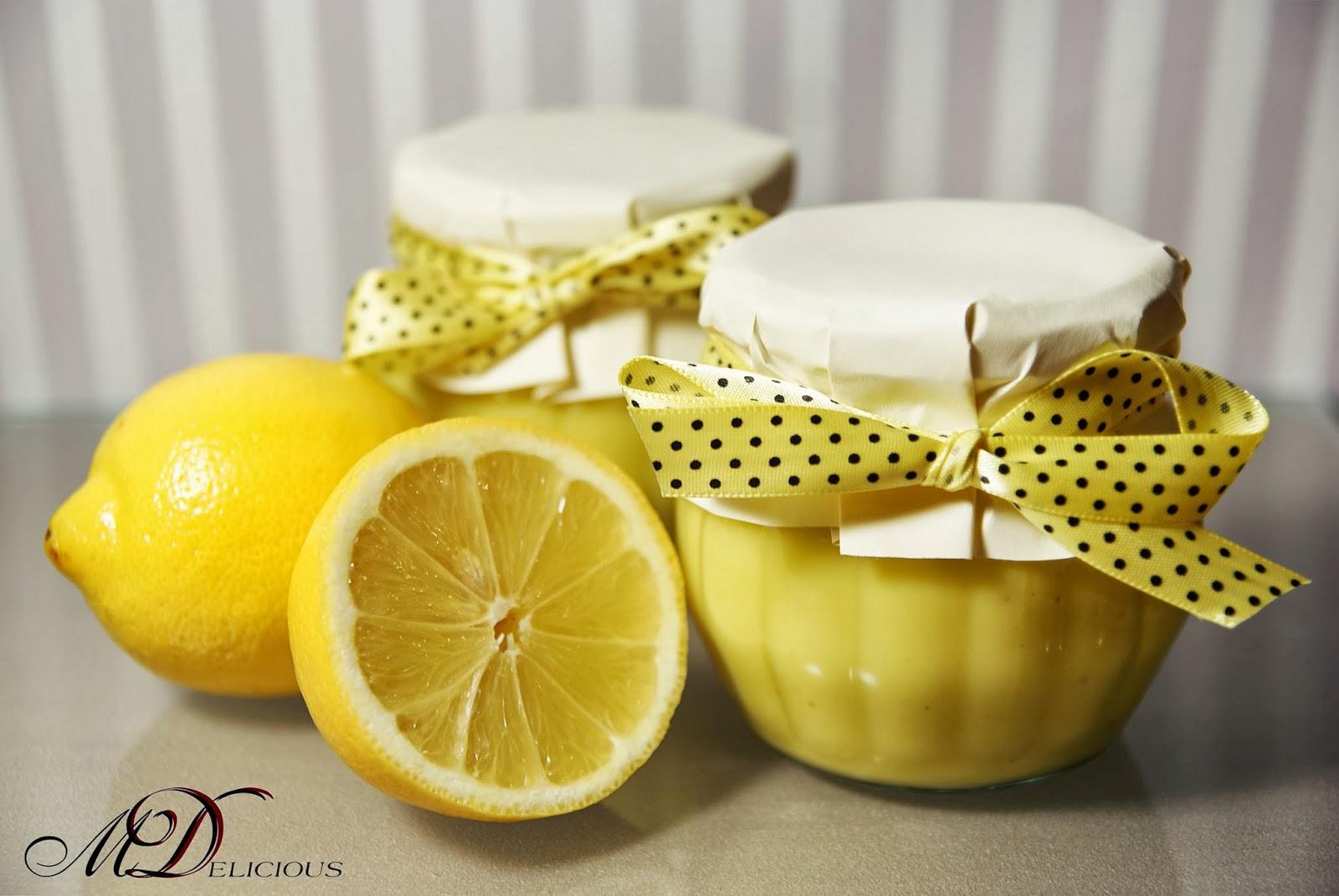 krem cytrynowy, krem z cytryną, domowy lemon curd