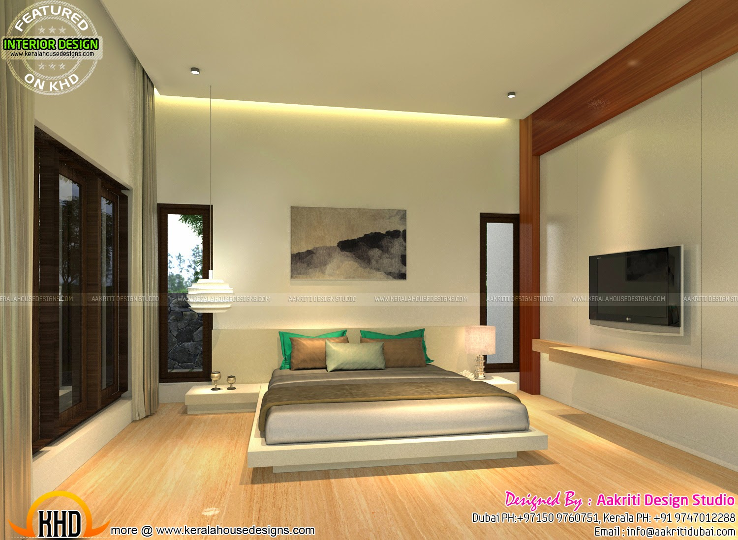 Kid Bedroom Master Bedroom Living Interior Kerala Home Design And Floor Plans