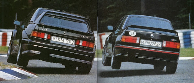 Mercedes-Benz 190 E 2.5-16 Evolution II BMW M3 Sport Evolution