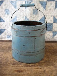 robins egg blue firkin