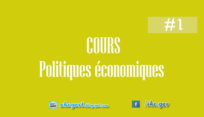 Cours Politiques économiques