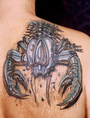 scorpio sign tattoos. Scorpion tattoos could be read