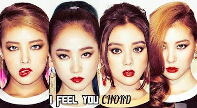 Wonder Girls - I Feel You Chords and Lyrics