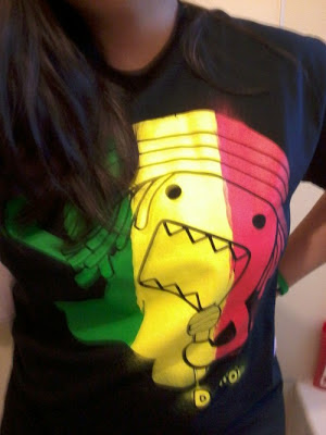 Rastafarian Domo shirt