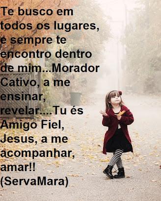 AMIGO FIEL, JESUS!
