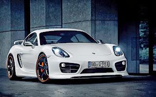 2014 TechArt Porsche Cayman HD Wallpaper