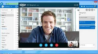 skype en outlook correo
