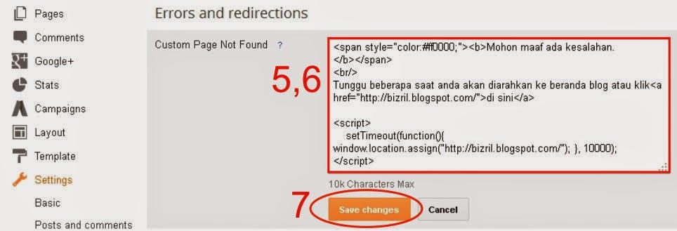 Mengarahkan Error 404-3